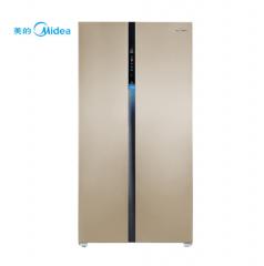 美的(Midea)BCD-645WKPZM 645升 对开门冰箱 变频智能 风冷无霜 货号100.WYH1