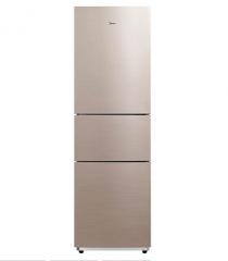 美的 BCD-217WTM 217升 三门 静音节能 双循环电冰箱 货号100.WYH2
