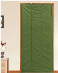 加厚防风防水 绿帆布棉门帘 (长2.2M*宽0.9M,厚3CM)