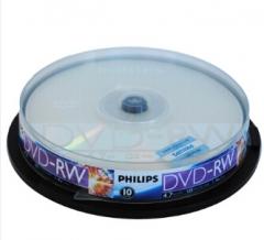 飞利浦(PHILIPS)PH DVD-RW 可擦写空白刻录光盘货号:100.ZL