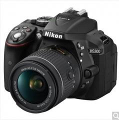 尼康(Nikon) D5300 单反相机黑色(AF-P DX 尼克尔 18-55mm f/3.5-5.6G VR)  货号100.X934