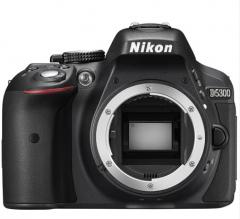 尼康(Nikon) D5300 单反机身 黑色 货号100.XB