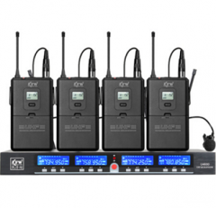 凯浮蛙(KFW) U4600B 无线话筒麦克风U段一拖四 头戴领夹培训演讲话筒货号100.AiSHW