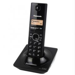 松下 (Panasonic)KX-TG13CNB-1数字单无绳电话机(钢琴黑)货号100.WYH008