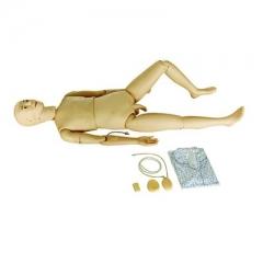 组合式多功能护理实习模拟人 仿真男性成人注射训练护理人体 货号100.HY19