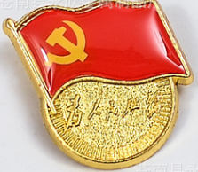 党徽22.5*24*2mm 小磁扣款10个/组   XH.370