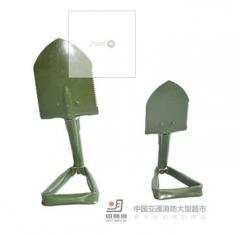 <> 野营工具野营装备三折铲大L60cm 折叠锹 户外野营工具   货号100.shw071