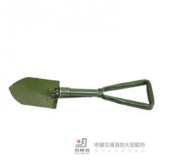 <> 野营工具野营装备三折铲小L46cm折叠锹 户外野营工具  货号100.shw072