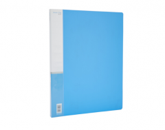 爱好 活页文件夹插页A4资料册报告夹档案盒文件资料盒 单强力夹 货号100.ZS130 2552