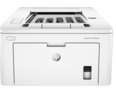 惠普HP M203DN 激光打印机 一年上门保修 货号100.H6