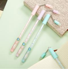 爱好(AIHAO) 可擦中性笔0.5m水笔摩易擦韩国创意可擦笔笔芯黑色8040  货号100.SQ162 粉色1支