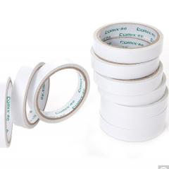 齐心(COMIX)24mm*10y(9.1米)棉纸双面胶带 货号100.CH1092
