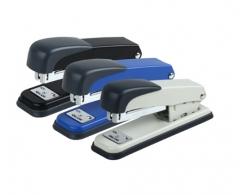 齐心(COMIX) 12号耐用省力订书机 颜色随机 办公文具 B3083订书机 货号100.SQ175