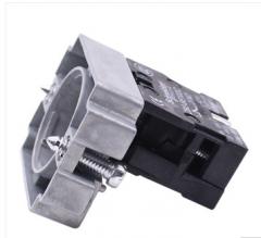 施耐德电气 XB2 22mm 按钮指示装置附件 ZB2BZ101C 触点基座 货号100.MZ