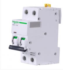 施耐德电气 A9 iC65N 2P 6KA 微型断路器 A9F18206 C6A 货号100.MZ