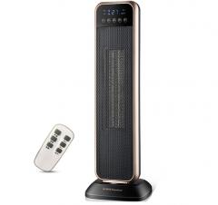 荣事达SG-202R 家用遥控摇头定时PTC塔式暖风机取暖器/电暖器/电暖气 货号100.YH
