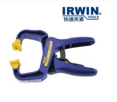 美国欧文IRWIN 木工夹子 航模夹G夹单手夹弹簧夹具快速夹钳模型夹 1/2寸(38mm)货号100.MZ