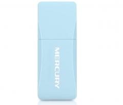 水星(MERCURY)UD6免驱版 650M双频USB无线网卡 智能自动安装随身wifi接收器 货号100.MZ