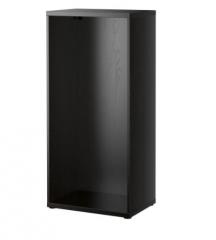 宜家 BESTÅ 贝达 框架 60厘米×40厘米×128厘米 黑褐色