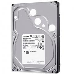东芝(TOSHIBA) 4TB 5400转128M SATA3 监控级硬盘 4T 货号100.MZ
