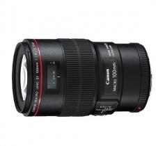 佳能100微距红圈镜头 EF 100mm f/2.8L IS USM 货号100.MZ