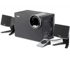 漫步者(EDIFIER) R201T北美 2.1声道 多媒体音箱 音响 电脑音箱 黑色 货号100.LJ008 黑色