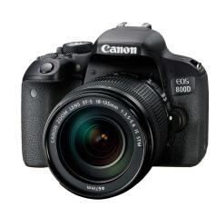 佳能(Canon)EOS 800D 单反相机套机 货号100.LJ019