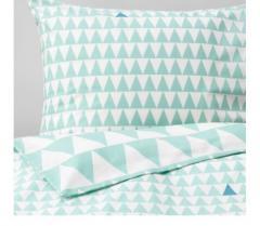 宜家STILLSAMT 斯蒂尔桑 儿童被套和枕套 150厘米×200厘米 浅青绿色