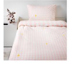宜家STILLSAMT 斯蒂尔桑 儿童被套和枕套 150厘米×200厘米 淡粉红色