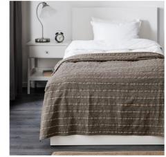 宜家TRATTVIVA 特拉特维瓦 床罩 150厘米×250厘米 灰色