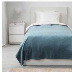 宜家TRATTVIVA 特拉特维瓦 床罩 150厘米×250厘米 浅蓝色