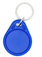 普瑞途 智能IC卡 钥匙扣卡 门禁考勤卡 异形卡 IC钥匙扣卡蓝色(25张/盒) 货号100.MZ