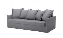 宜家HOLMSUND 霍姆桑德 三人沙发床罩 中灰色