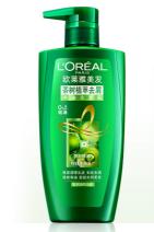 欧莱雅(LOREAL)洗发水 茶树植萃去屑净油洗发露 500ml(无硅油去屑止痒去油)货号JQ