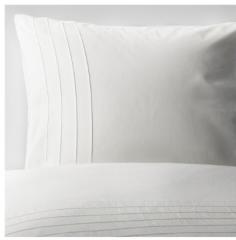 宜家ALVINE STRÅ 艾尔文 斯加 被套和枕套 220厘米x240厘米 白色