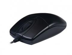 双飞燕 有线USB鼠标 台式机笔记本一体机家用办公游戏U口方口扁口通用鼠标 MOP-620NU PJ.092