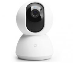 米家 MIJIA 小米 米家智能摄像机 360°全景侦测 红外夜视720P分辨率云台版 货号100.SQ201
