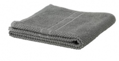宜家 FRÄJEN 法拉耶 浴巾 40厘米×70厘米 灰色 灰色