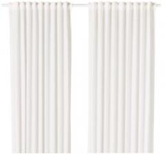 宜家 BRIGID 布里基德 窗帘 2幅 145厘米×250厘米 白色/白色 等级: 0% of 100 白色