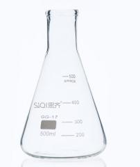 思齐(SiQi) 三角烧瓶 玻璃瓶锥形瓶 500ml 化学实验仪器 货号100.MZ