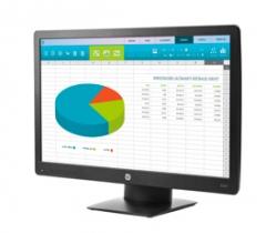 惠普(HP) P203 20 英寸液晶显示器 宽屏16:9货号100.LS21