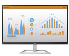 惠普(HP) 广视角窄边框 IPS高清大屏办公显示器 FHD1920*1080 N240 23.8英寸(黑色)货号100.LS29