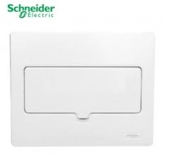施耐德电气(Schneider Electric) 配电箱暗装 全金属空气开关强电箱 8回路 货号100.MZ