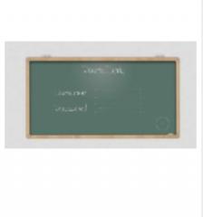 科达KDHJ 黑板   3.5m*1.2m  货号100.CH2019