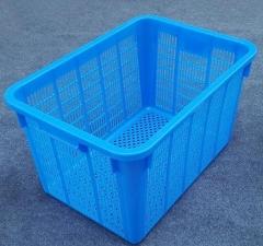塑料筐方筐 大篮子收纳篮筐大方筐 100.JD175