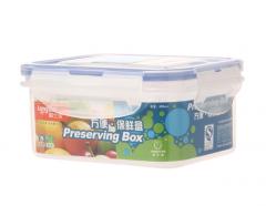 龙士达(LONGSTAR) 微波炉饭盒保鲜盒 400ml透明塑料密封罐便当盒 储物盒货号100.YH