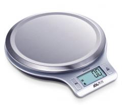 香山 EK813-3kg 精准电子厨房秤烘焙称(银色) 货号100.YH