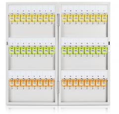 得力 9323 钥匙箱48位金属钥匙柜管理箱收纳箱壁挂式 货号100.S1543
