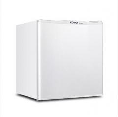 康佳(KONKA)50升 单门 迷你小冰箱 节能保鲜(白色)货号100.X1106