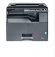 京瓷 黑白数码复印机 TASKalfa 2010 黑色 官方标配 单纸盒+盖板 (复印/打印/扫描) 货号100.CH2029